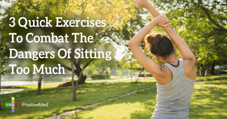 3 Quick Exercises To Combat The Dangers Of Sitting Too Much