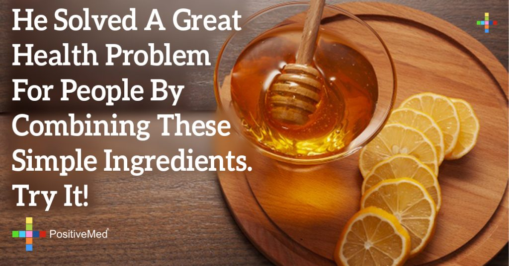 He Solved A Great Health Problem For People By Combining These Simple Ingredients. Try It!