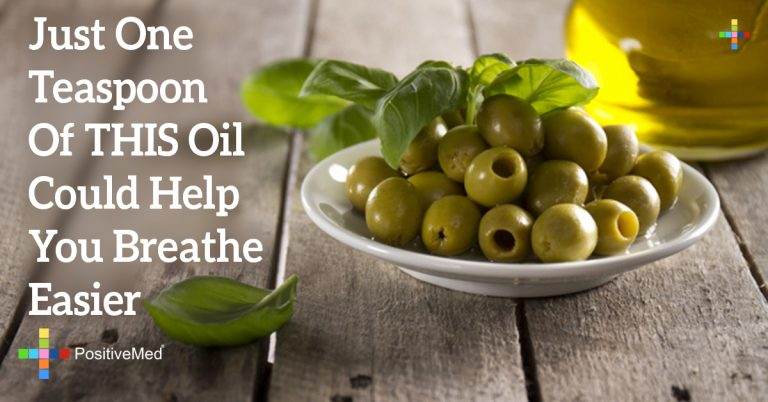 Just One Teaspoon Of THIS Oil Could Help You Breathe Easier