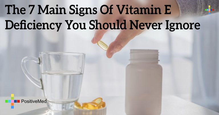 The 7 Main Signs Of Vitamin E Deficiency You Should Never Ignore