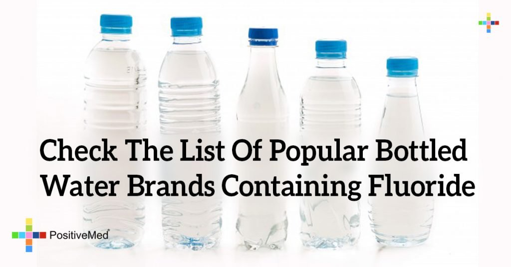 Check The List Of Popular Bottled Water Brands Containing Fluoride