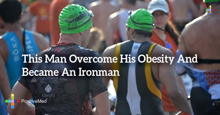 This Man Overcome His Obesity And Became An Ironman
