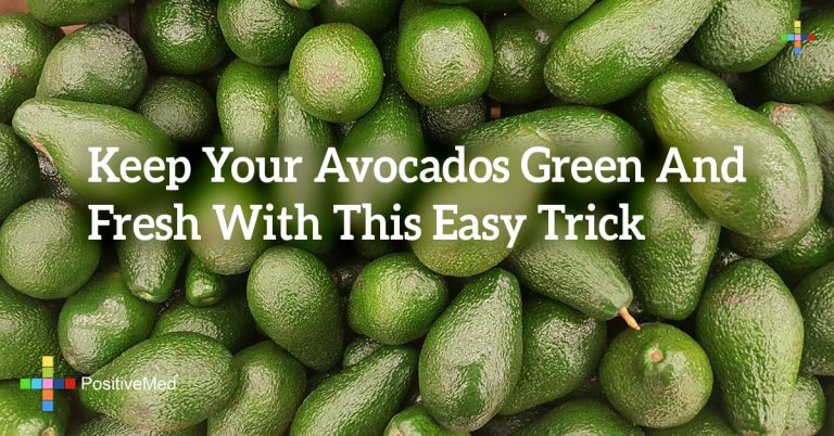 Keep Your Avocados Green And Fresh With This Easy Trick