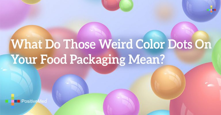 What Do Those Weird Color Dots On Your Food Packaging Mean?