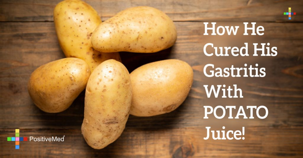 How He Cured His Gastritis With POTATO Juice!