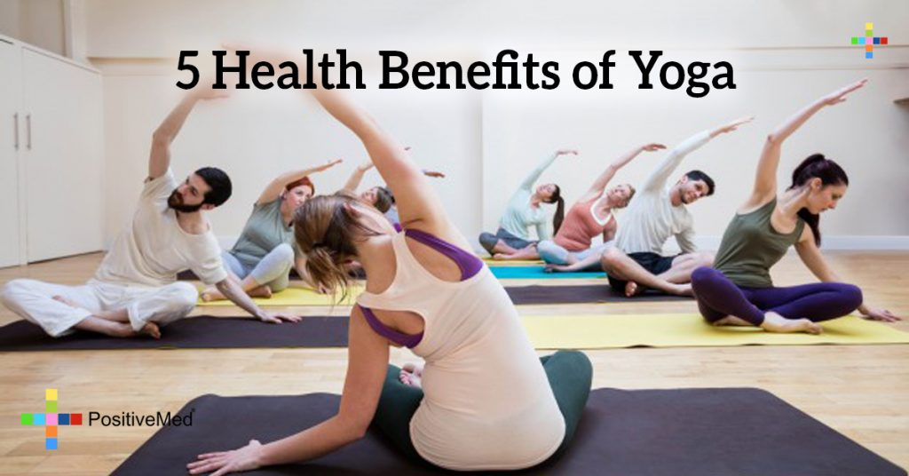 5 Health Benefits of Yoga