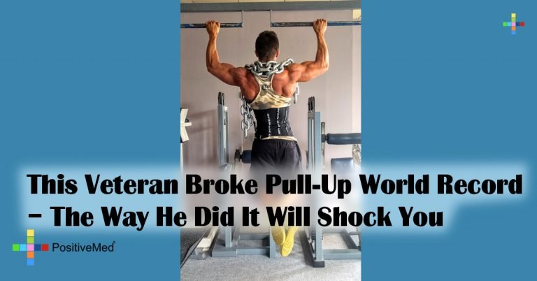 This Veteran Broke Pull-Up World Record – The Way He Did It Will Shock You