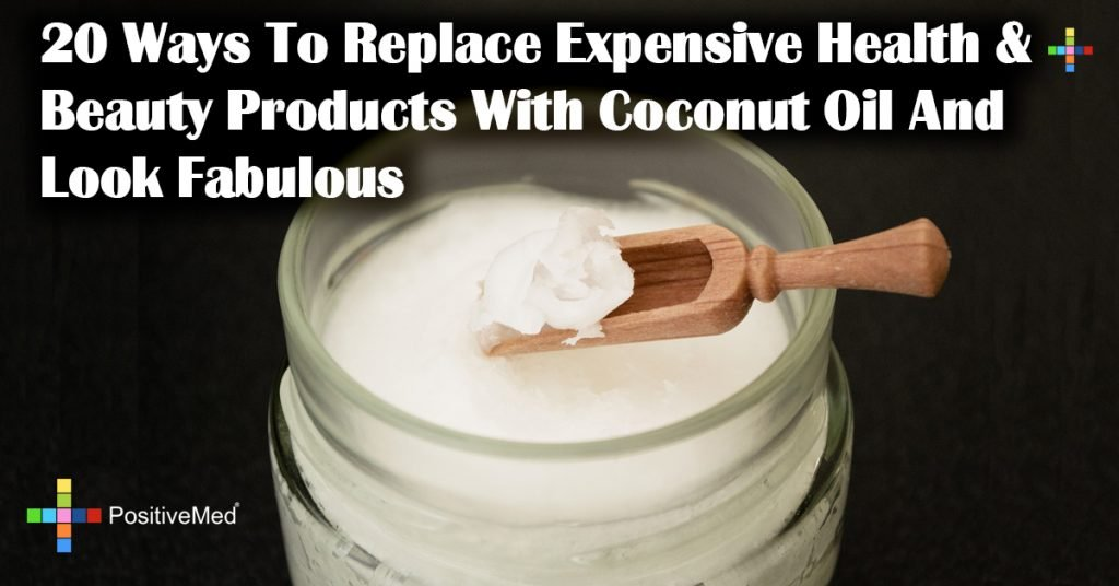 20 Ways To Replace Expensive Health & Beauty Products With Coconut Oil And Look Fabulous