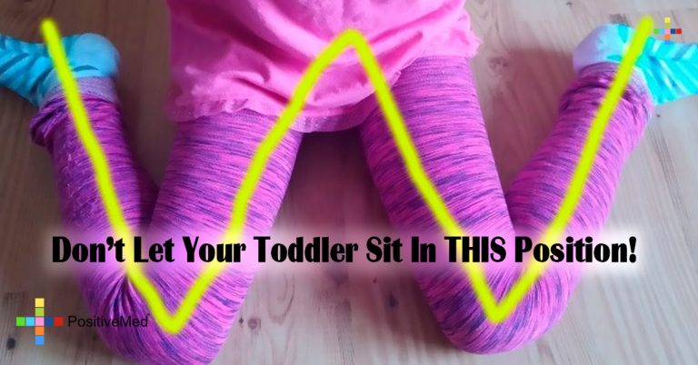 Don't Let Your Toddler Sit In THIS Position!