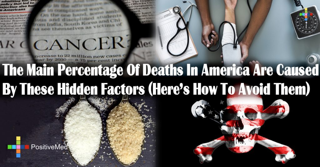 The Main Percentage Of Deaths In America Are Caused By These Hidden Factors (Here's How To Avoid Them)