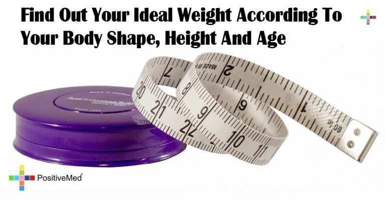 Find Out Your Ideal Weight According To Your Body Shape, Height And Age