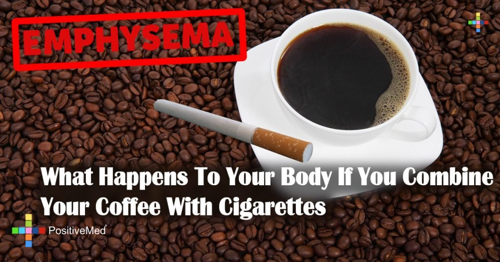 What Happens To Your Body If You Combine Your Coffee With Cigarettes