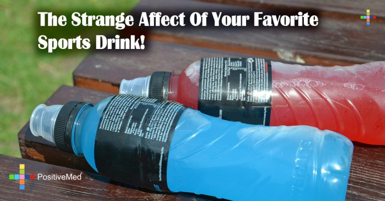 The Strange Affect Of Your Favorite Sports Drink!