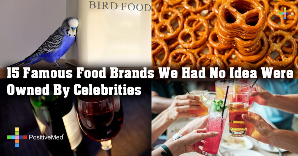 15 Famous Food Brands We Had No Idea Were Owned By Celebrities