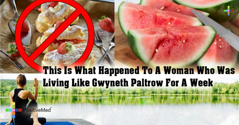 This Is What Happened To A Woman Who Was Living Like Gwyneth Paltrow For A Week