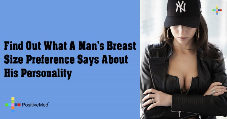 Find Out What A Man's Breast Size Preference Says About His Personality