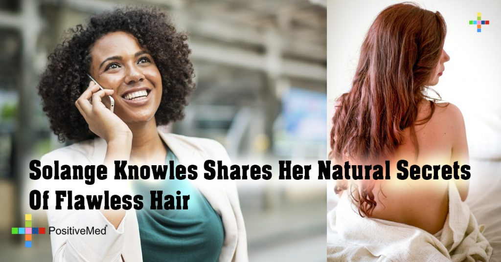 Solange Knowles Shares Her Natural Secrets Of Flawless Hair