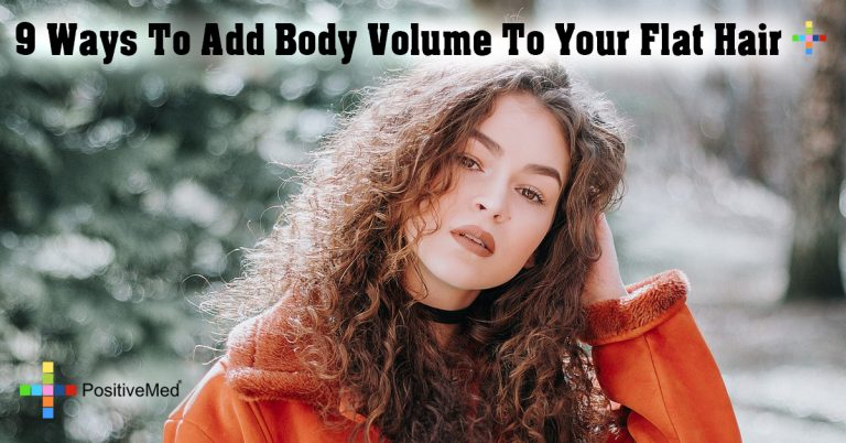 9 Ways To Add Body Volume To Your Flat Hair