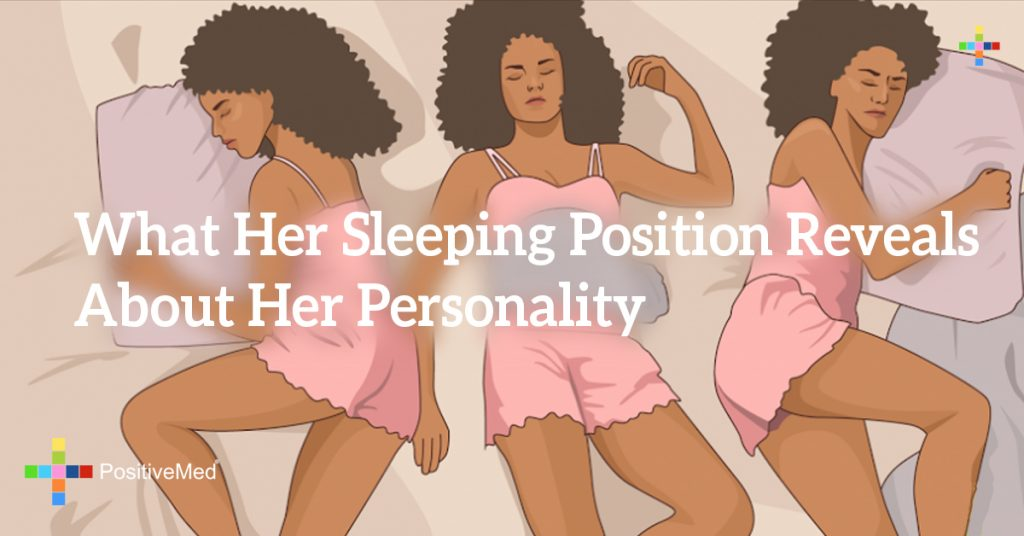 What Her Sleeping Position Reveals About Her Personality