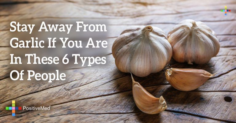 Stay Away From Garlic If You Are In These 6 Types Of People