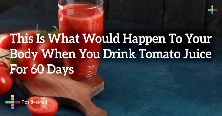 This Is What Would Happen To Your Body When You Drink Tomato Juice For 60 Days