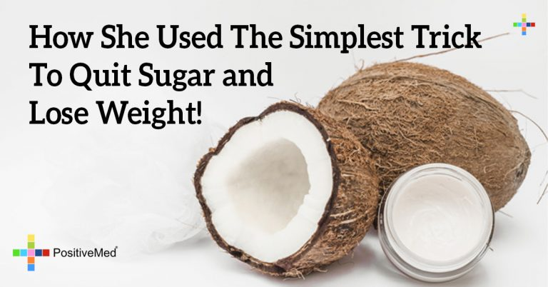 How She Used The Simplest Trick To Quit Sugar and Lose Weight!