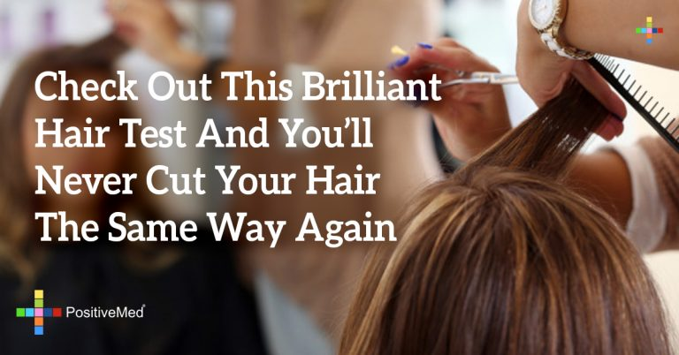 Check Out This Brilliant Hair Test And You'll Never Cut Your Hair The Same Way Again
