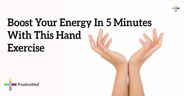 Boost Your Energy In 5 Minutes With This Hand Exercise