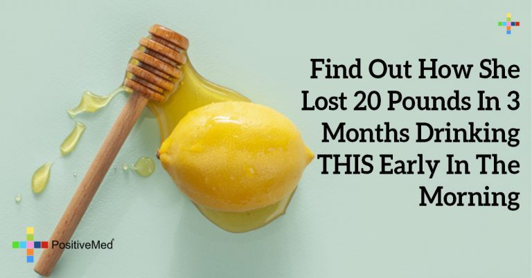 Find Out How She Lost 20 Pounds In 3 Months Drinking THIS Early In The Morning