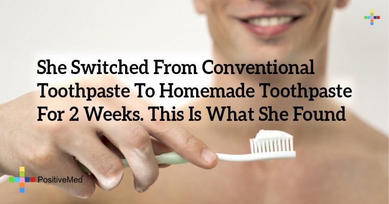 She Switched From Conventional Toothpaste To Homemade Toothpaste For 2 Weeks. This Is What She Found