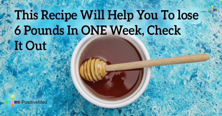 This Recipe Will Help You To lose 6 Pounds In ONE Week, Check It Out