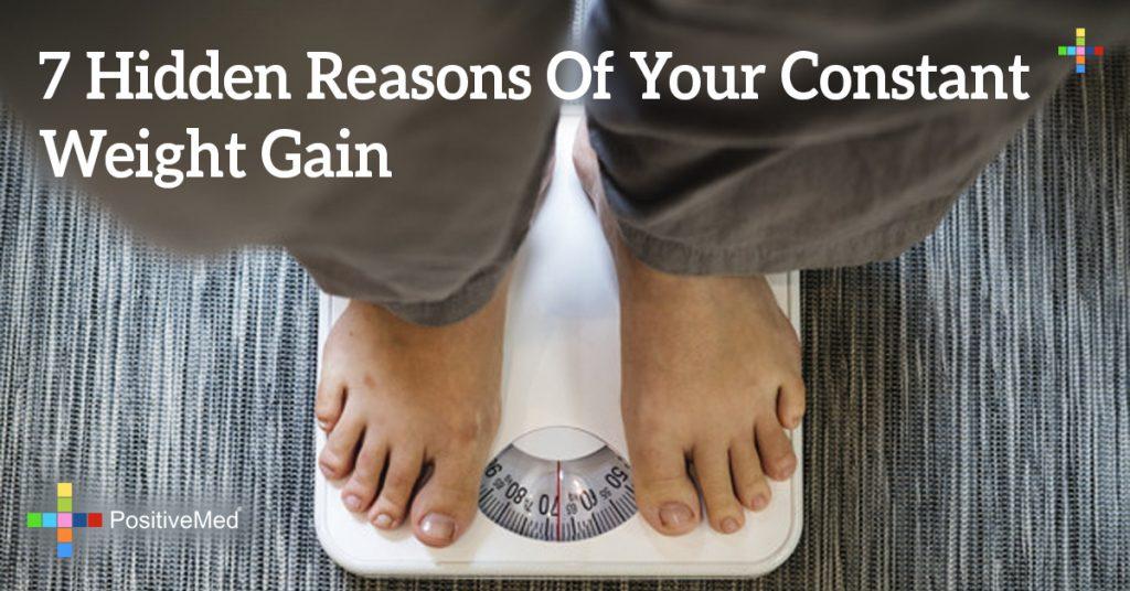 7 Hidden Reasons Of Your Constant Weight Gain
