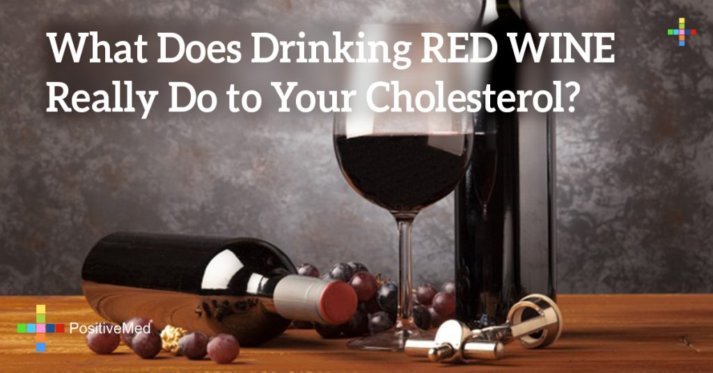 What Does Drinking RED WINE Really Do to Your Cholesterol?
