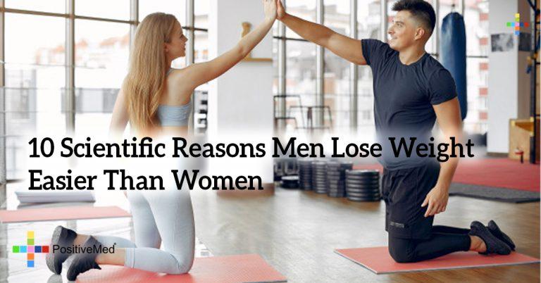 10 Scientific Reasons Men Lose Weight Easier Than Women