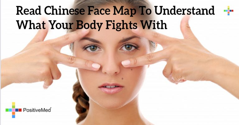 Read Chinese Face Map To Understand What Your Body Fights With