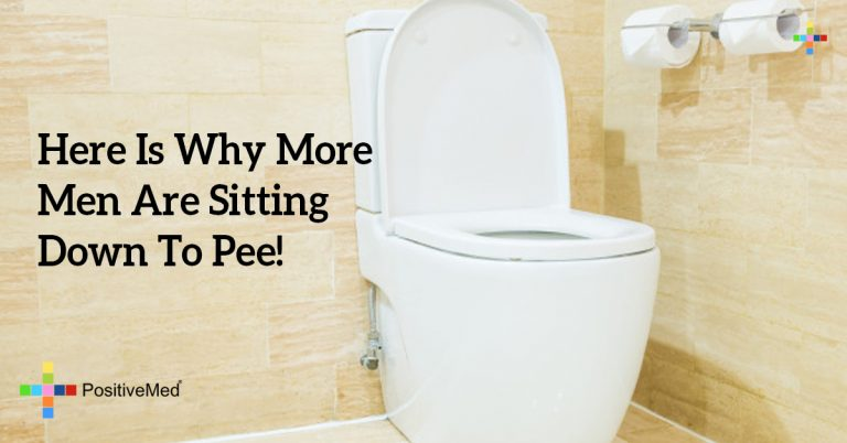 Here Is Why More Men Are Sitting Down To Pee!