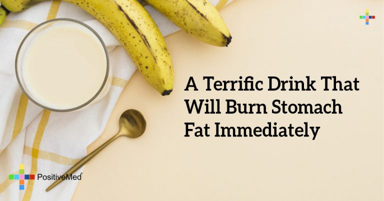 A Terrific Drink That Will Burn Stomach Fat Immediately