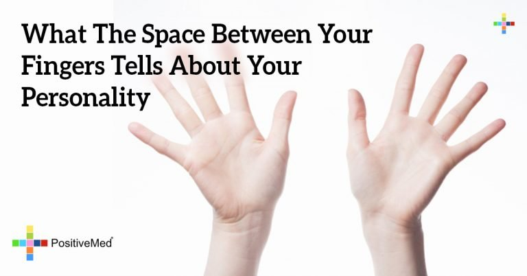 What The Space Between Your Fingers Tells About Your Personality