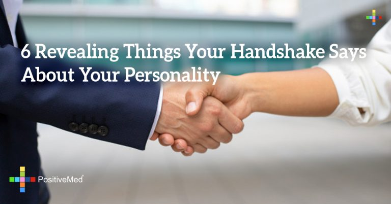 6 Revealing Things Your Handshake Says About Your Personality