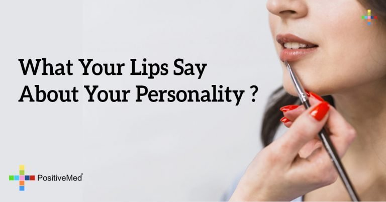 What Your Lips Say About Your Personality ?