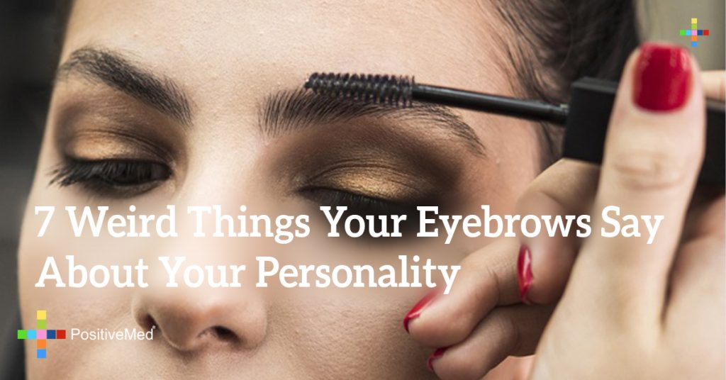 7 Weird Things Your Eyebrows Say About Your Personality