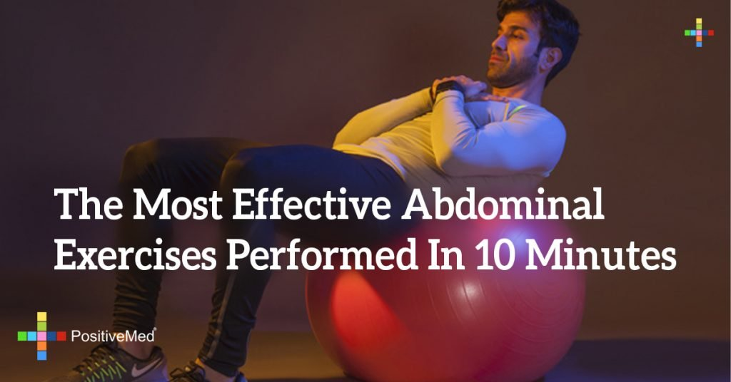 The Most Effective Abdominal Exercises Performed In 10 Minutes