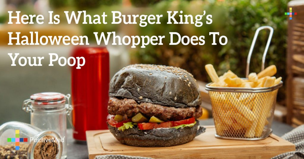 Here Is What Burger King's Halloween Whopper Does To Your Poop