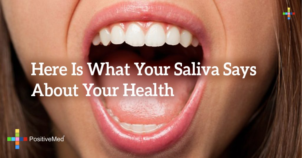 Here Is What Your Saliva Says About Your Health