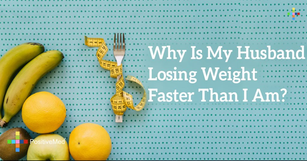 Why Is My Husband Losing Weight Faster Than I Am?