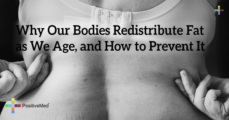 Why Our Bodies Redistribute Fat as We Age, and How to Prevent It