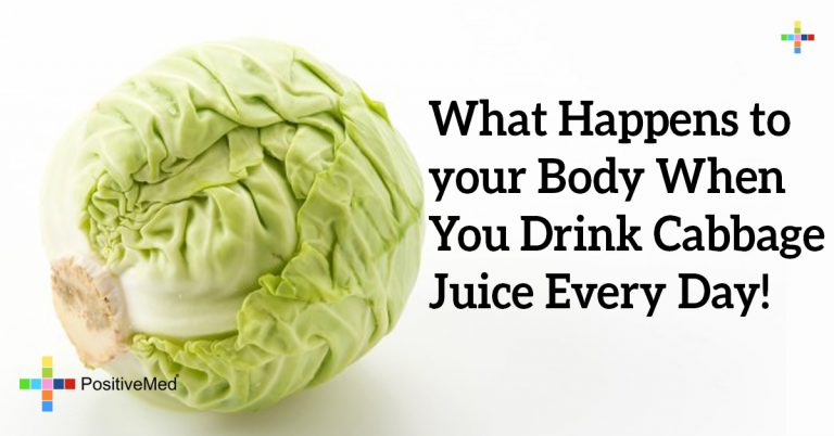 What Happens to your Body When You Drink Cabbage Juice Every Day!