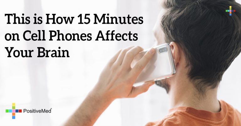 This is How 15 Minutes on Cell Phones Affects Your Brain