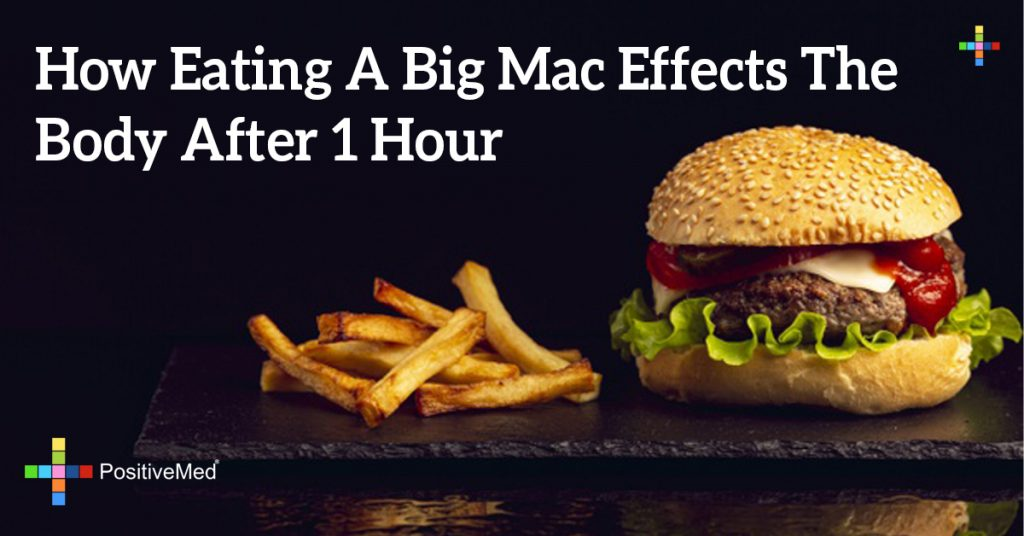 How Eating A Big Mac Effects The Body After 1 Hour