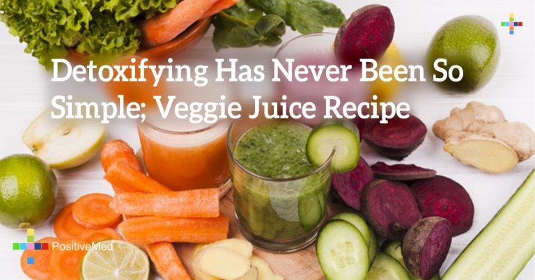 Detoxifying Has Never Been So Simple; Veggie Juice Recipe